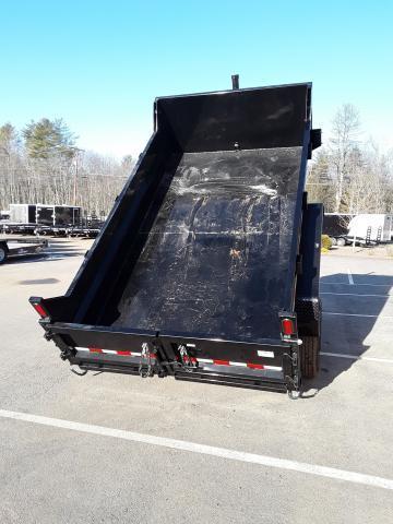 Sure-Trac 7 x 12 Low Profile 12K Dump Trailer Telescope