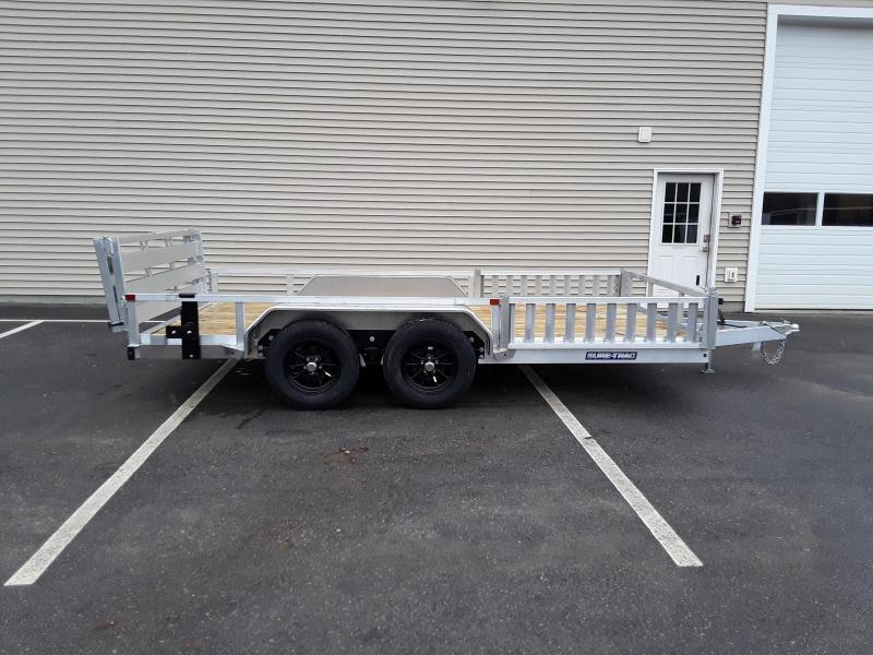 Sure-Trac 7 X 14 Aluminum Tube Top ATV  7K Tandem