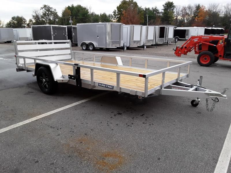 Sure-Trac 7 x 14 Aluminum Tube Top Utility Trailer