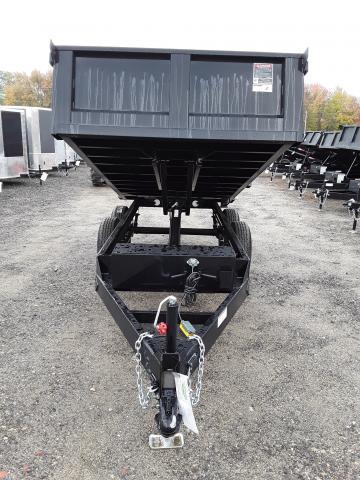 Hawke 6 x 12 Deck Over HD Dump Trailer