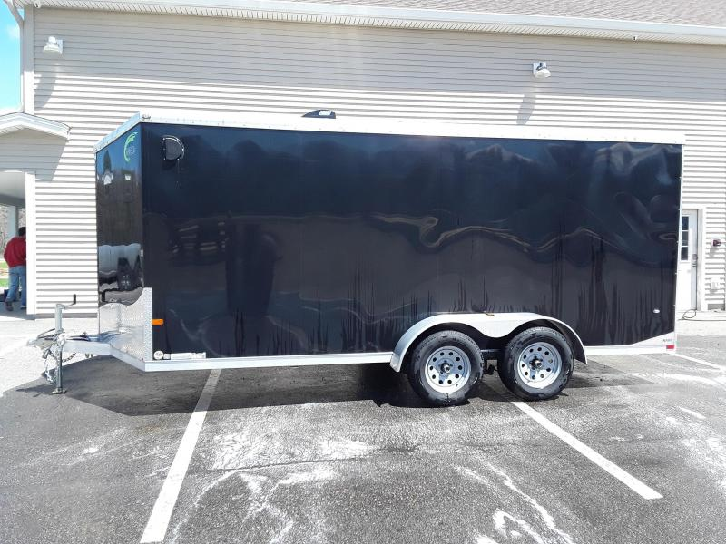 2016 NEO 7 x 16 V-Nose Enclosed Trailer