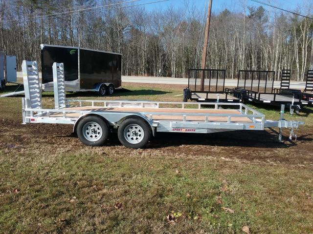 Sport Haven 7 x 16 Heavy Duty Aluminum Trailer