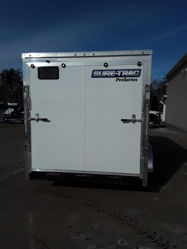 Sure-Trac 7 x 14 Pro Series Enclosed Wedge Cargo T