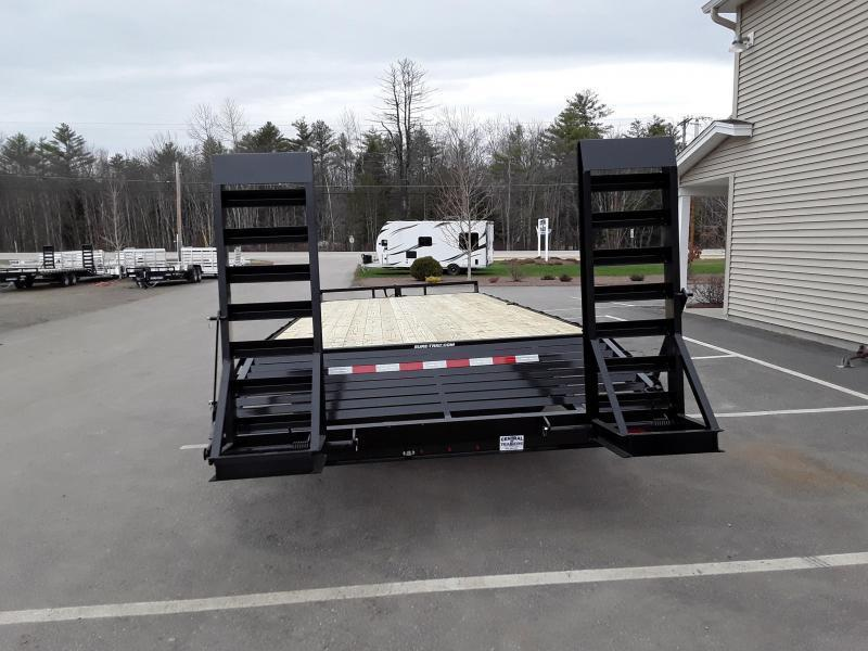 Sure-Trac 8.5 x 20 +4 Deck Over With Toolbox