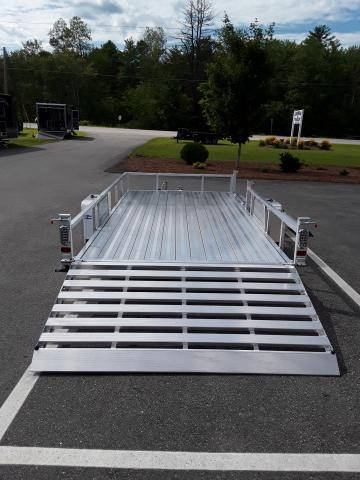 Sport Haven 7 x 14 All Aluminum Utility Trailer with Side Ramp