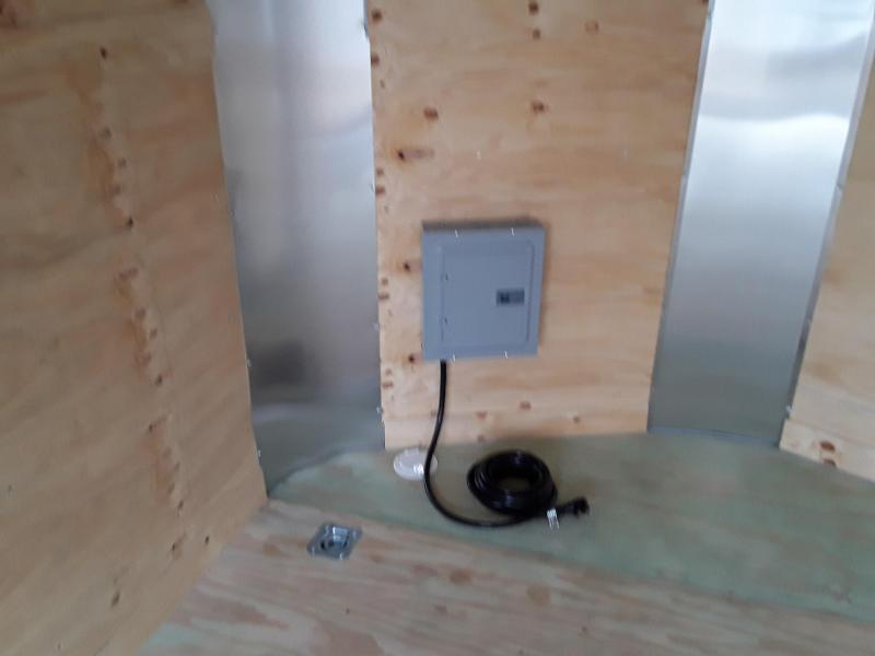 Arising Industries 8.5 x 16 V-Nose Enclosed Contractor Trailer