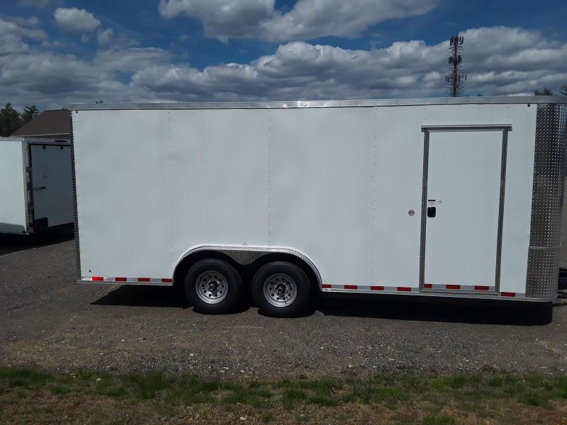 Arising Industries 8.5 x 18 V-Nose Enclosed Trailer
