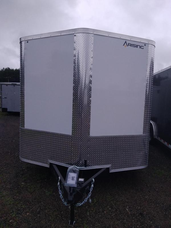 Arising Industries 8.5 X 20 V-Nose Enclosed Trailer