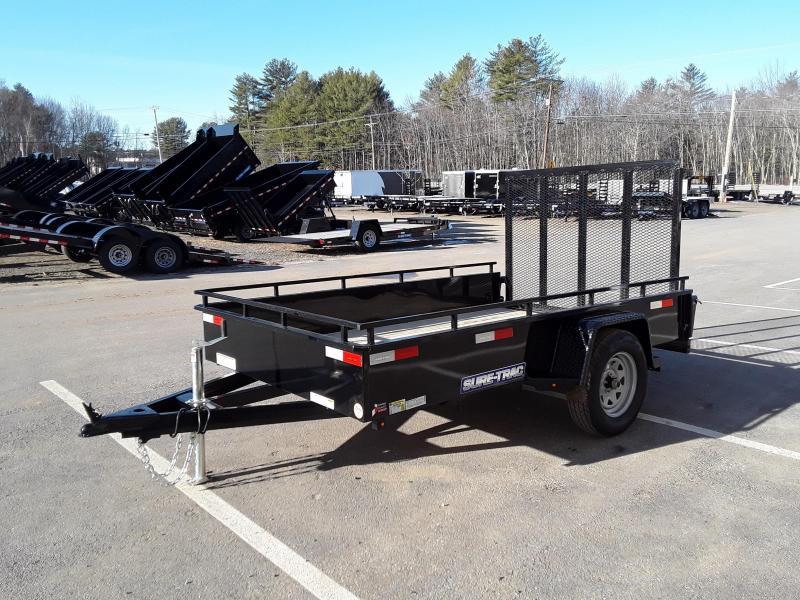 Sure-Trac 6 x 10 Steel High Side Trailer  3k Idler