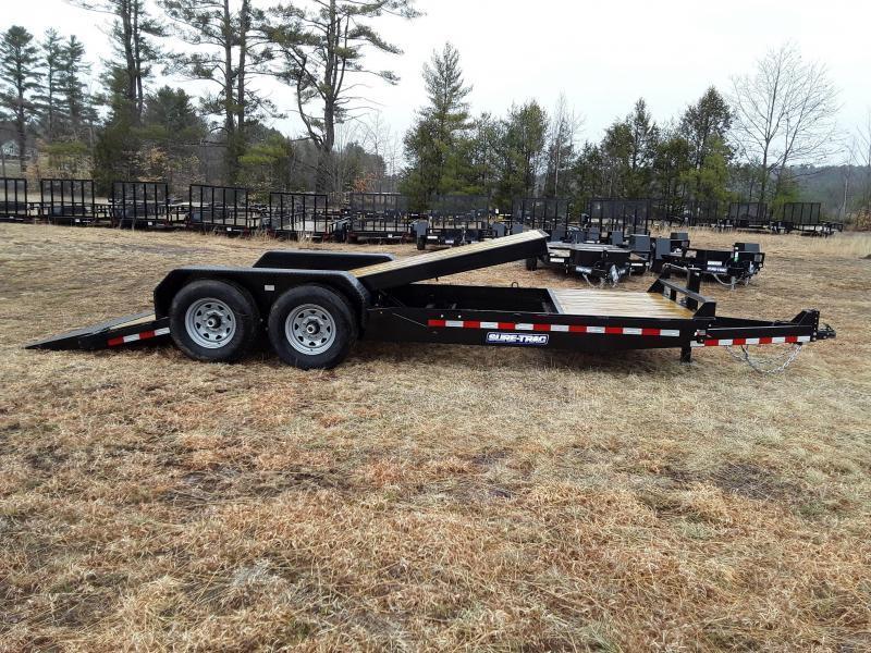 Sure-Trac 7 x 16+4 Tilt Bed Equipment Trailer  14K