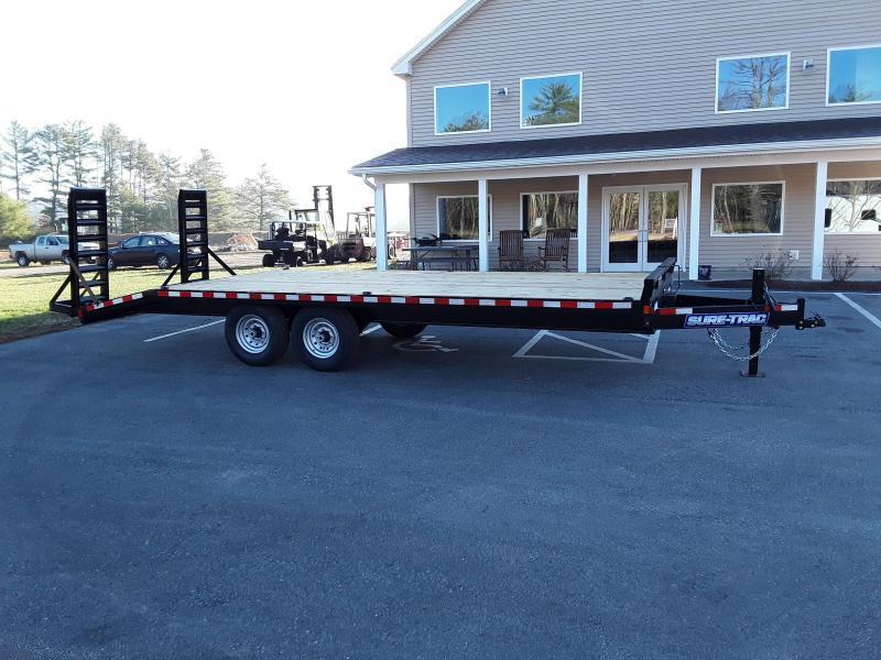 Sure-Trac 8.5 x 18+4 Standard Duty Beavertail Deck