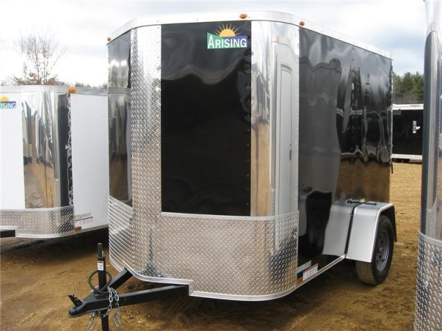 Arising Industries 6 x 8 V-Nose Enclosed Trailer