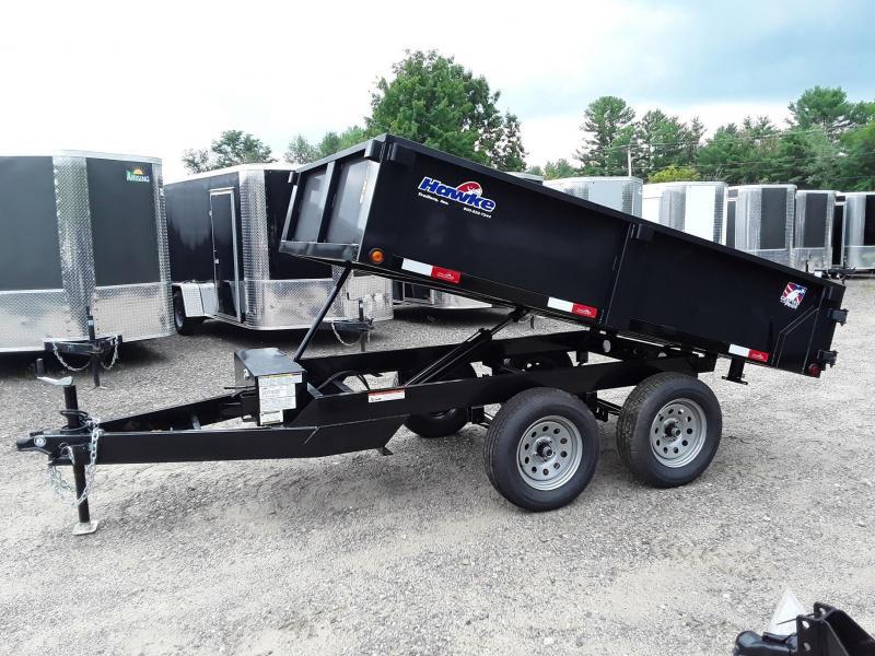 Hawke 6 X 10 Deck Over Dump Trailer