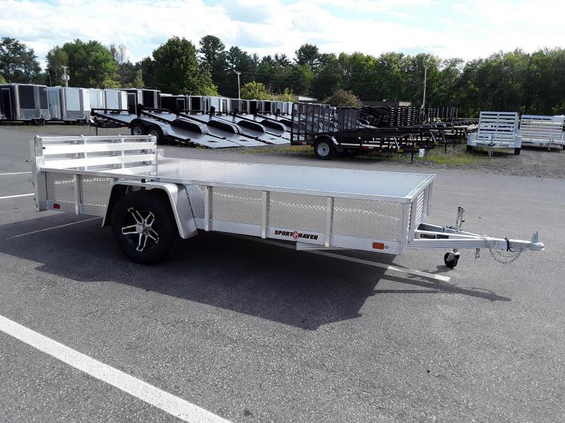 Sport Haven 6 x 12 All Aluminum Utility Trailer with Sides