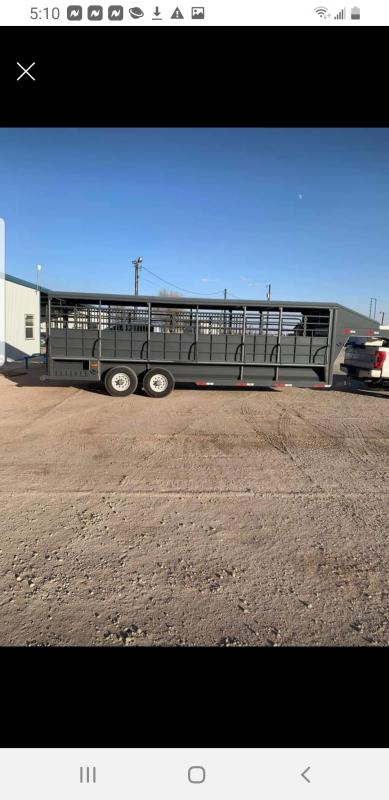 2018 Other MET GRI Livestock Trailer