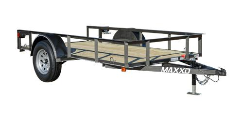 2019 MAXXD S2M - White Series Angle Single Axle