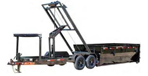 2021 MAXXD ROX - 14K Roll-Off Dump Dump Trailer