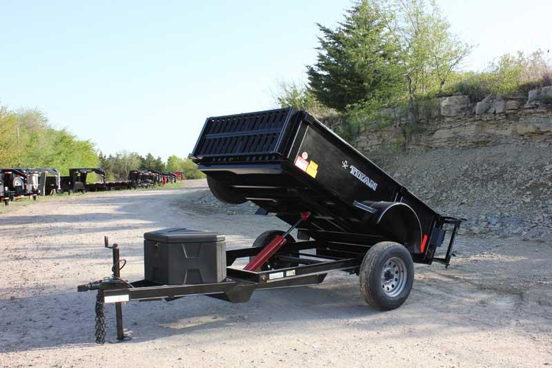 2019 Titan Trailer 5' x 8' Mini-Dump