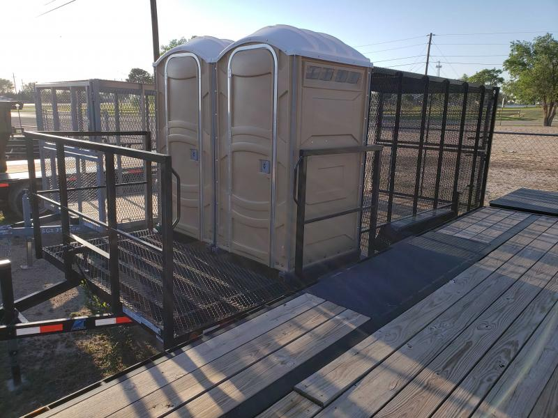 2021 AT Trailers Potty trailer Utility Trailer