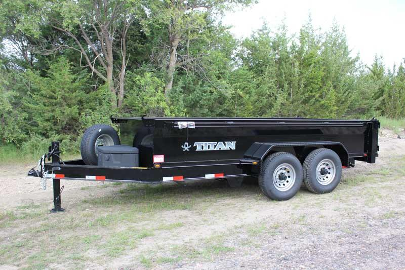 2019 Titan Trailer Smooth Side Dump