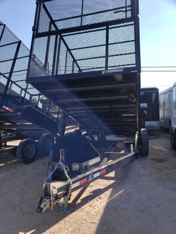 2021 AT Trailers Dump Trash trailer Dump Trailer