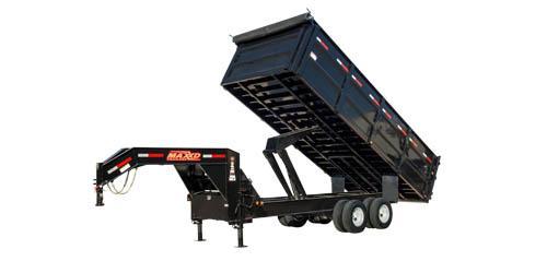 "2021 MAXXD DDX - 96"" Tandem Dual Dump Trailer Dump Trailer"