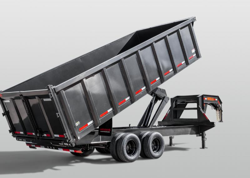2021 MAXXD Dump trailer gooseneck