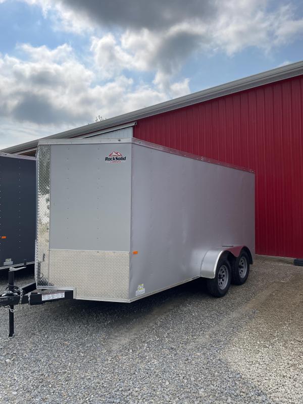 2022 Rock Solid Cargo 7X14TA 3500LB Enclosed Cargo Trailer