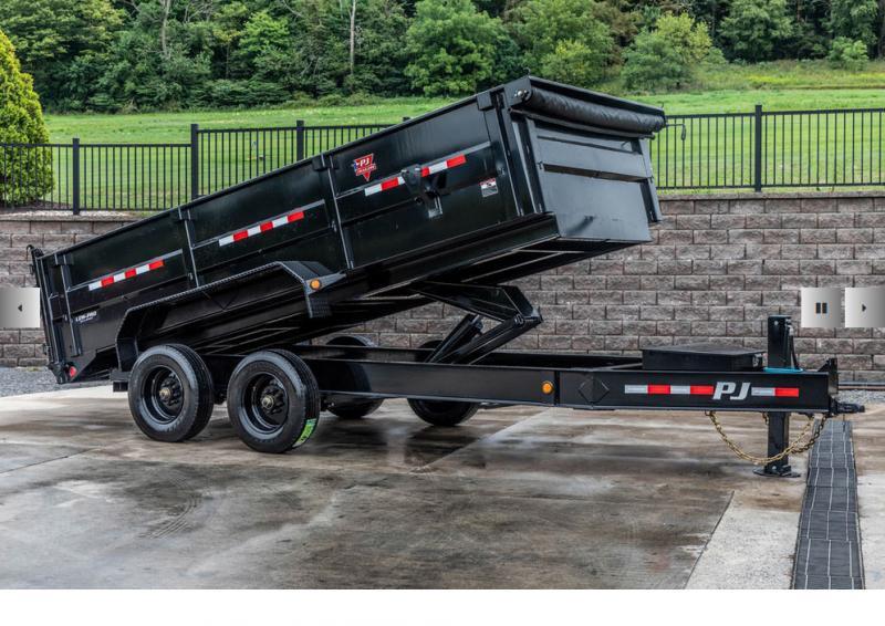 2021 Pj 16' Hd Low-pro Dump Bp