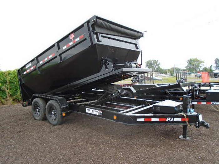 2022 Pj Bp 14' Rollster Roll Off Dump