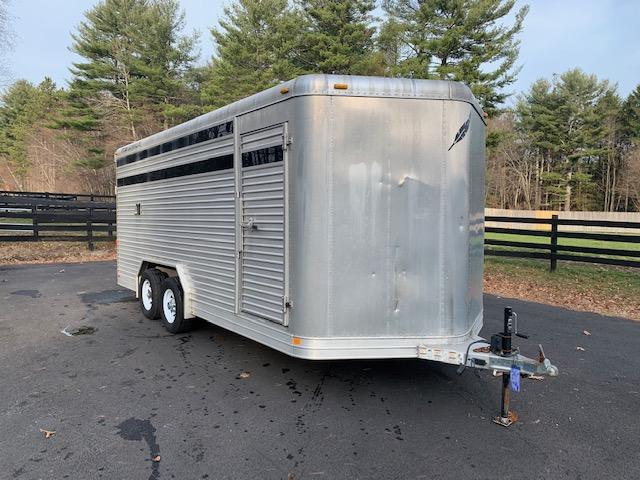 2005 Featherlite 18' X 8' Stock Trailer