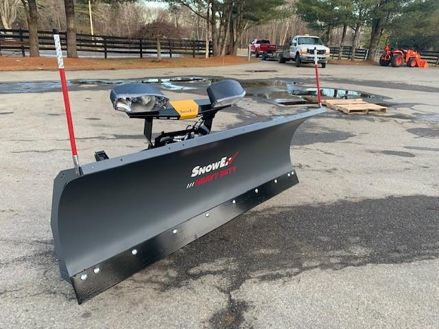 "2021 Snow Ex 7600 Rd 7'6"" Steel Blade"