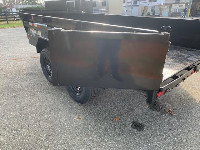 "2022 Pj 12' X 72"" Tandem Axle Dump"