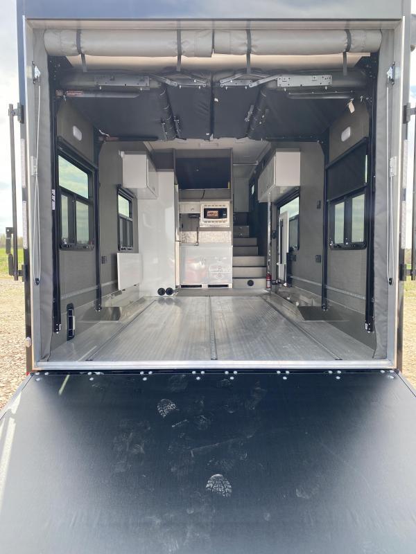 2021 Aluminum Trailer Company Game Changer Pro PRSAF8536+0-2T7.0K-3619 Toy Hauler RV