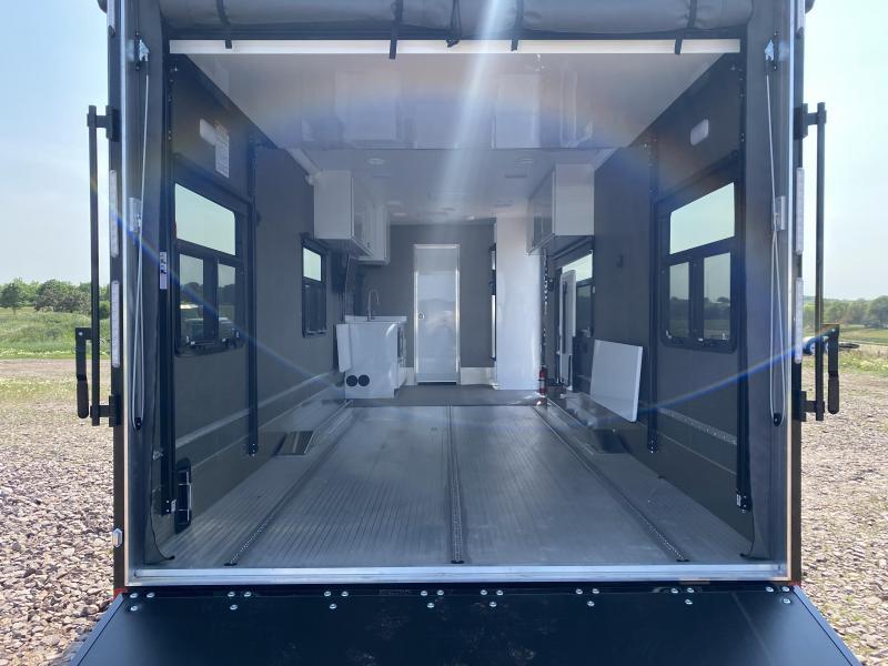 2021 Aluminum Trailer Company Game Changer Pro PRSAB8528+0-2T6.0K-2823 Toy Hauler RV