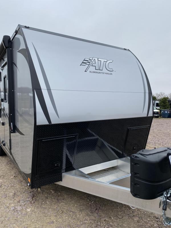 2020 Aluminum Trailer Company ARV 8.5x24 Toy Hauler RV