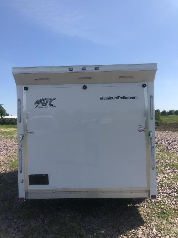 2020 Aluminum Trailer Company MC300 Motorcycle Trailer