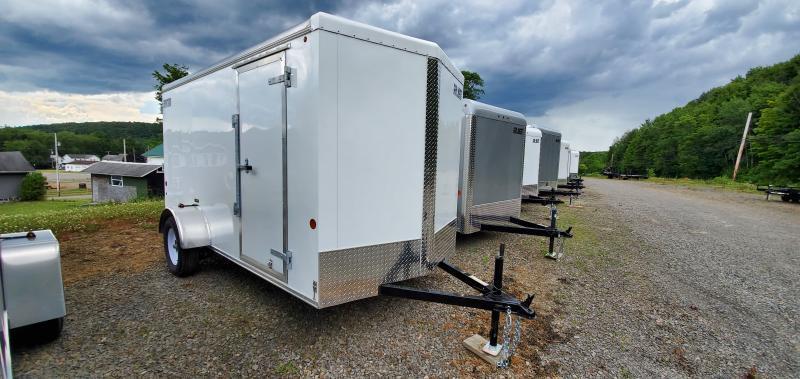 Car Mate Trailers 6 x 12 V-Sport Enclosed Cargo Trailer