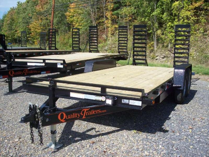 Quality Trailers QU 816+2DHG-14 Equipment Trailer