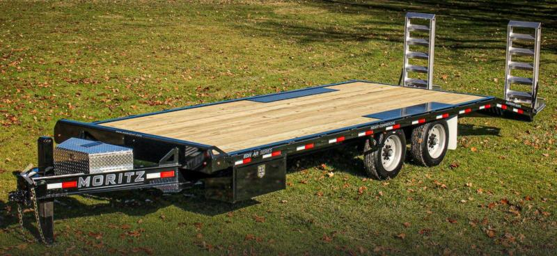 2021 Moritz International MI EDBH 18+4 AR-14 Equipment Trailer