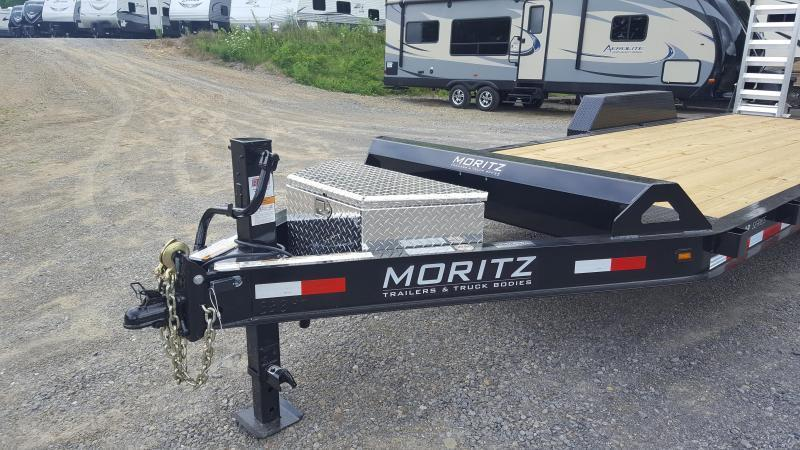 Moritz ELBH20AR-14 Low Profile Equipment Trailer