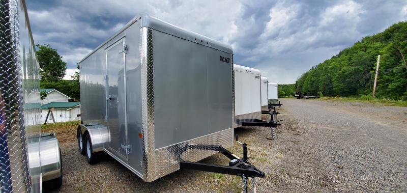 Car Mate CM 714CC-HD-H Enclosed Cargo Trailer