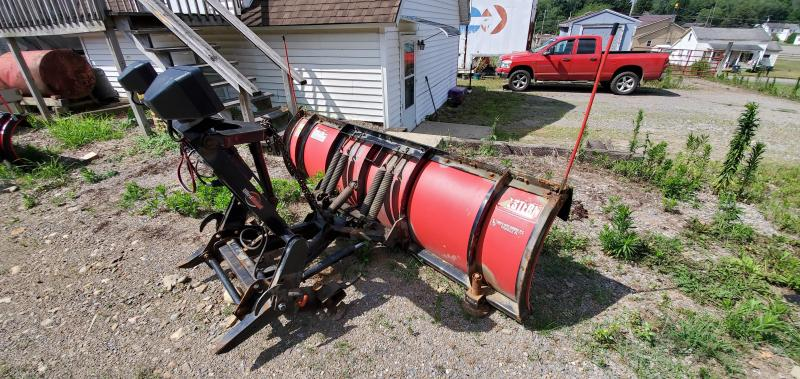USED WESTERN 8' PRO POLY Snow Plow