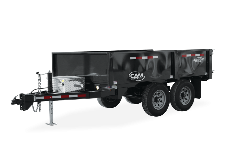 CAM 10-610DODT Dump Trailer