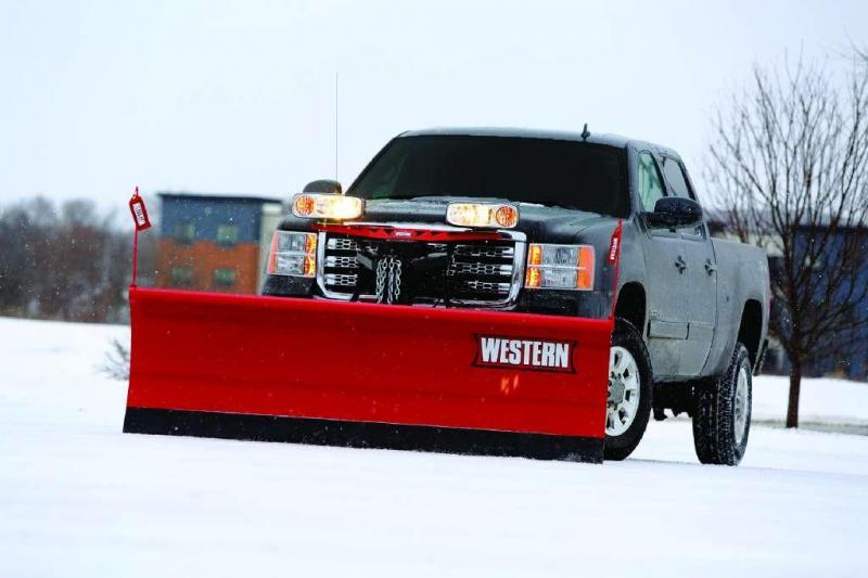 Western Pro Steel & Poly Snow Plow