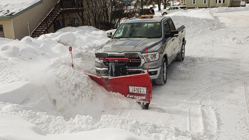 Western ENFORCER Snow Plow