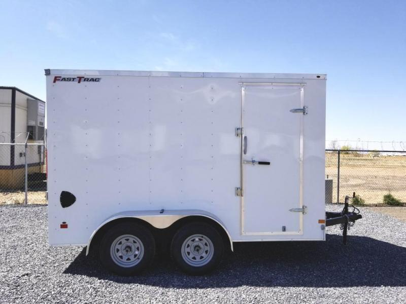 2021 Wells Cargo 12' Deluxe Enclosed Trailer