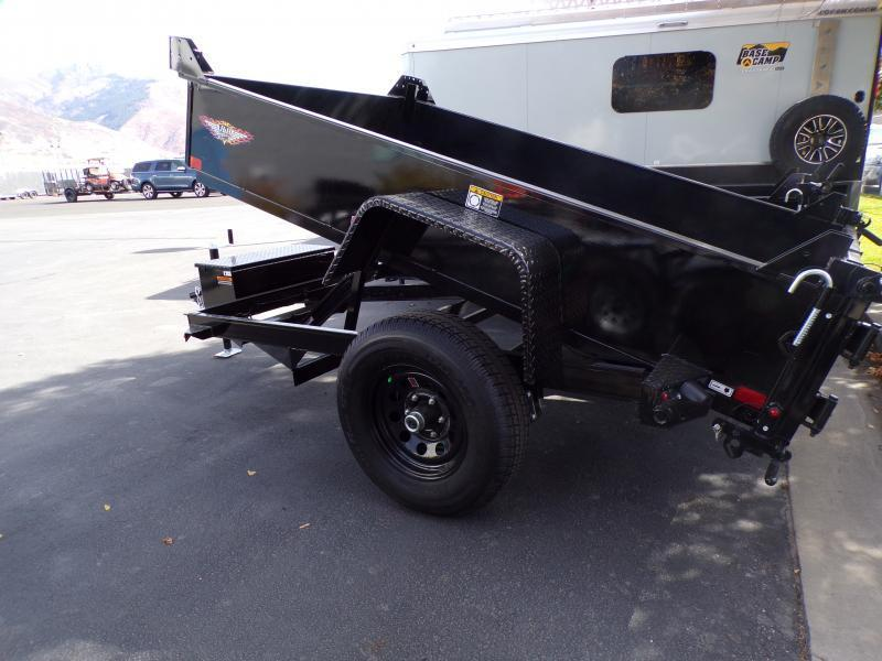 2021 H and H 8' Dump Trailer