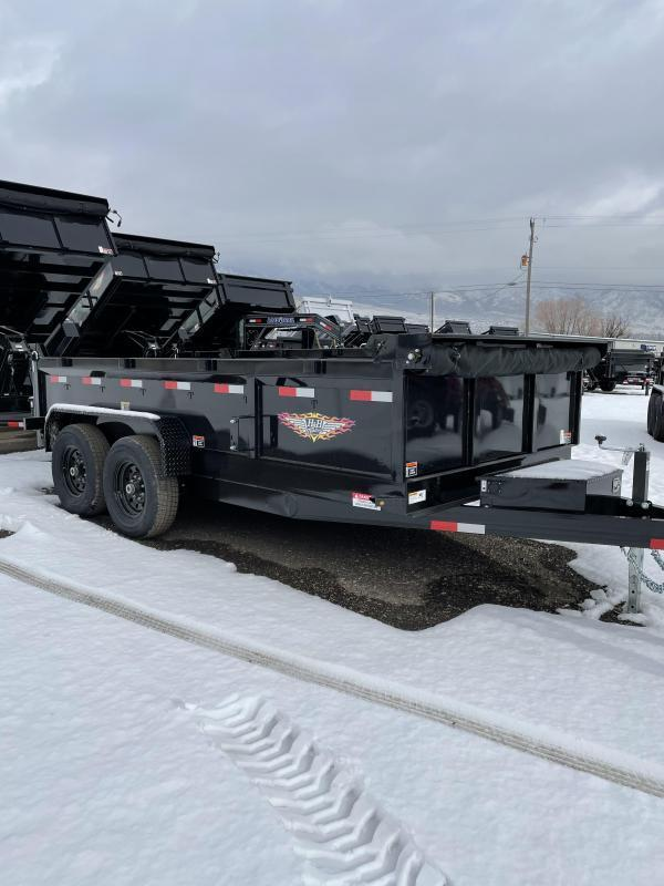 2021 H and H 14' Dump Trailer