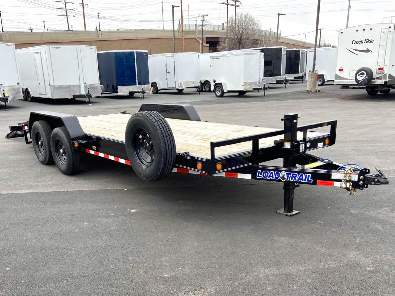 2021 Load Trail 20' Flatbed Car / Racing Trailer On Sale
